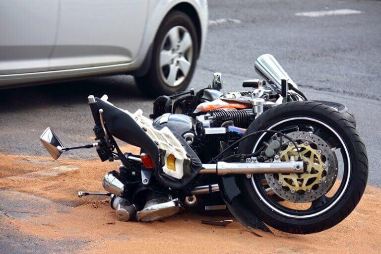 motor ongeluk schade